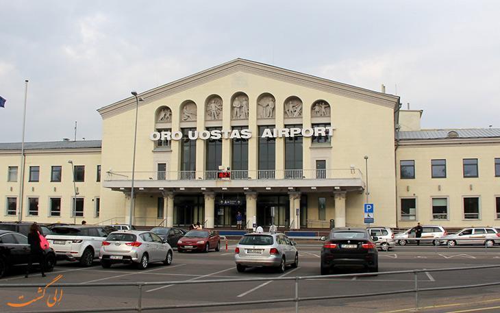 چطور از فرودگاه ویلنیوس لیتوانی به مرکز شهر برویم؟