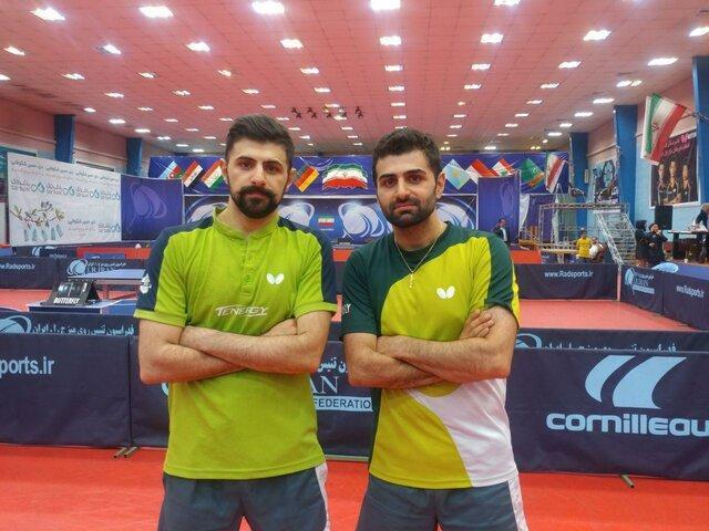 پیروزی برادران عالمیان در جدول مقدماتی تور جهانی بلغارستان