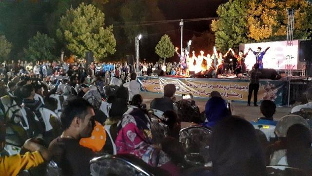 استقبال مردم و مسافران از جشنواره موسیقی اقوام در خراسان شمالی