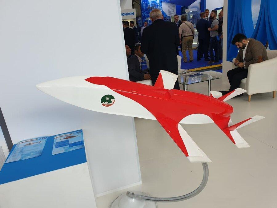 پهپاد جدید ایران با نام مبین در روسیه به نمایش درآمد