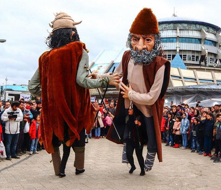 غول های بندر انزلی در آرزوی رفتن به باکو