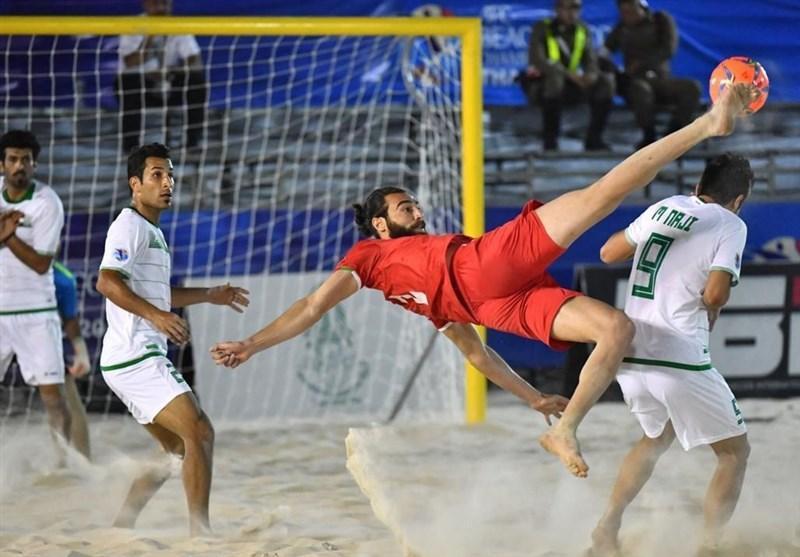 دعوت از تیم ملی فوتبال ساحلی برای حضور در جام بین قاره ای