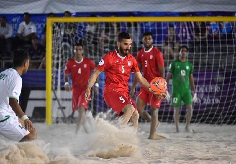 بازیکن تیم ملی فوتبال ساحلی ایران بازی های ساحلی را از دست داد