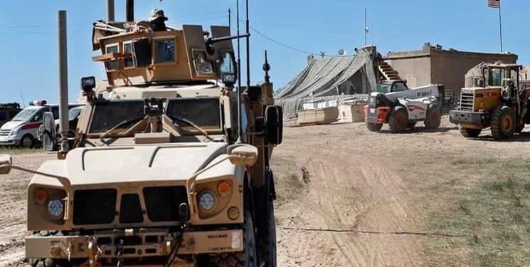 کاروان نظامی آمریکا در جهت سوریه به عراق هدف حمله قرار گرفت