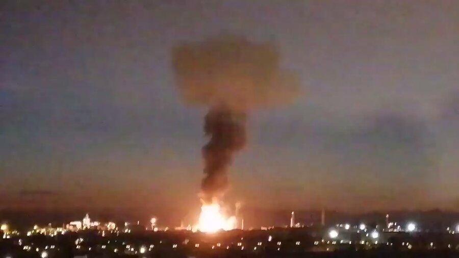 انفجار بزرگ شیمیایی در اسپانیا، اعلام شرایط اضطراری