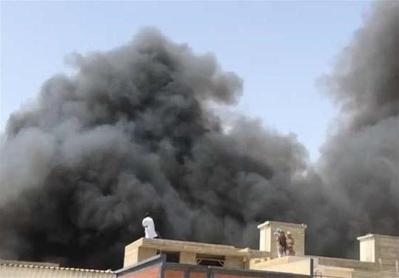 سقوط هواپیمای مسافربری پاکستانی در نزدیکی شهر کراچی 107 کشته برجای گذاشت
