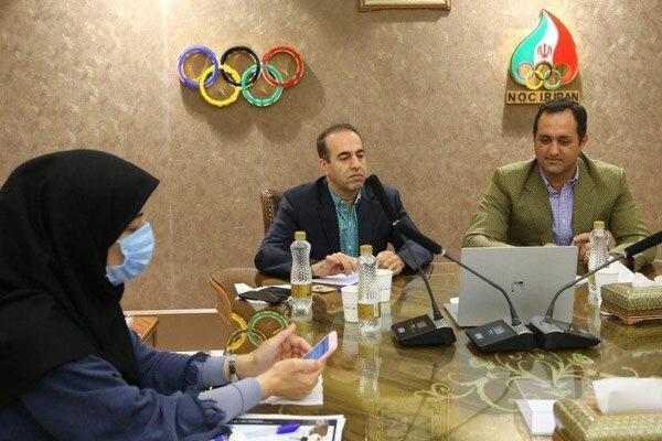 نشست آنلاین مسئولان ایران با کمیته برگزاری المپیک توکیو