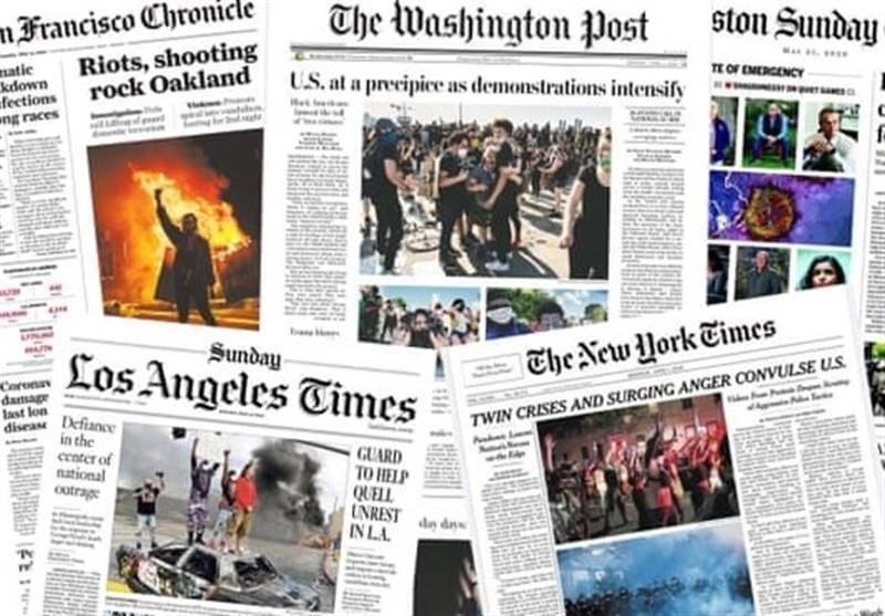 گزارش، آیا رسانه های آمریکا اعتراضات مردم به وضع موجود را می پسندند؟