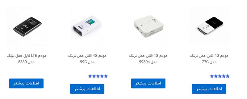 مودم های نزتک توسط شرکت هایپرسل در ایران فراوری می شوند و گارانتی تعویض 36 ماهه دارند