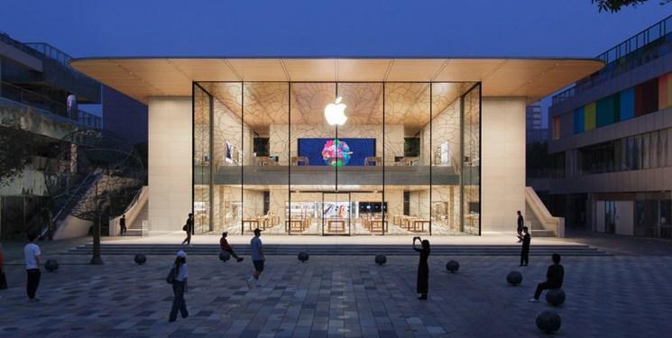 فروشگاه جدید اپل در پکن با انرژی خورشیدی روشن می گردد