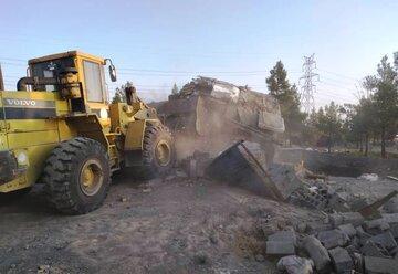 فعالان فضای مجازی مشهد اسنادی از تخریب خانه اهالی محله اسماعیل آباد و بافت اطراف حرم منتشر کردند