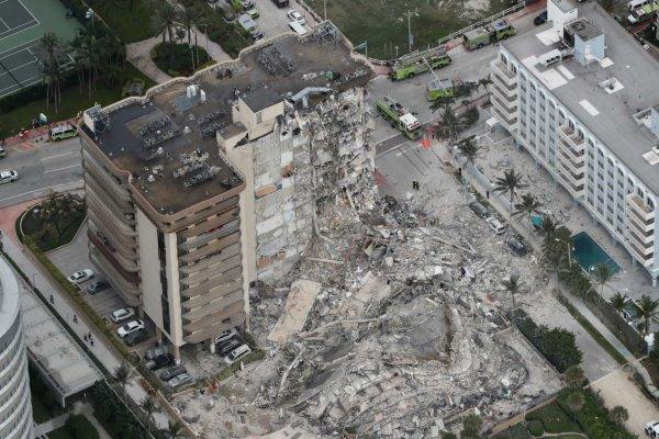 یک ساختمان مسکونی دیگر در فلوریدا تخلیه شد