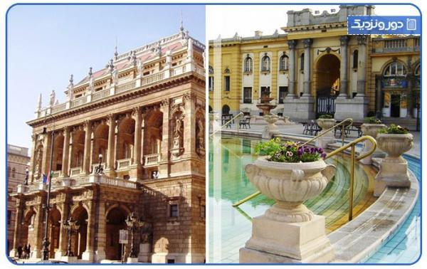 برترین جاذبه های گردشگری بوداپست ، فروش آنلاین بلیط هواپیما به مقصد مجارستان